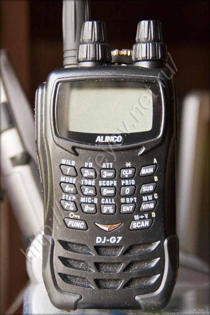Alinco DJ-G7T