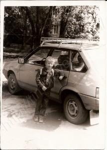 После первых уроков. 1 сентября 1989